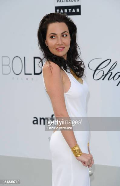 Fabiola Beracasa attends amfAR's Cinema Against AIDS Gala during the 64th Annual Cannes Film Festival at Hotel Du Cap on May 19 2011 in Antibes France