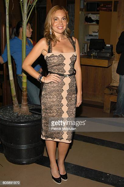 Fabiola Beracasa attends JORDANA BREWSTER's Blame it on Rio Birthday Party hosted by CABANA CACHACA at Bungalow 8 on April 20 2006 in New York City