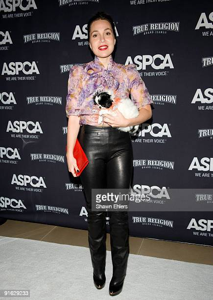 Fabiola Beracasa attends the 2009 ASPCA Young Friends benefit at the IAC Building on October 8 2009 in New York City