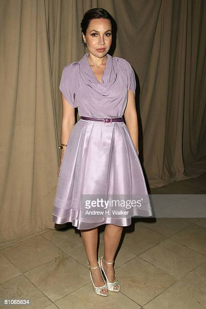 Fabiola Beracasa attends the Christian Dior Cruise 2009 Collection at Gustavino's in New York City