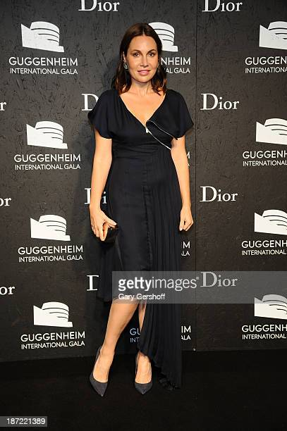 Fabiola Beracasa attends the Guggenheim International Gala made possible by Dior Preparty hosted by The Young Collector's Council at the Guggenheim...