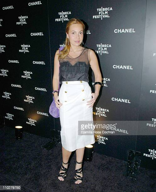 Fabiola Beracasa during 5th Annual Tribeca Film Festival Chanel Dinner at Opening of Mr Chow Celebrating Artists of the Tribeca Film Festival at Mr...