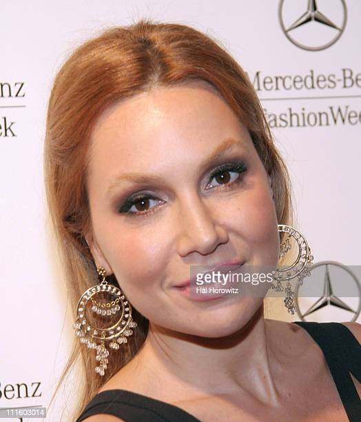 Fabiola Beracasa during MercedesBenz Fashion Week Fall 2007 Official Fashion Week KickOff Party in New York City New York United States