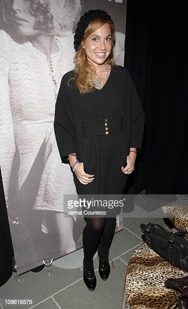 Fabiola Beracasa during Saks Fifth Ave and Biba Present the Relaunch of the Biba Lounge at SAKS Fifth Ave at SAKS Fifth Avenue in New York City New...