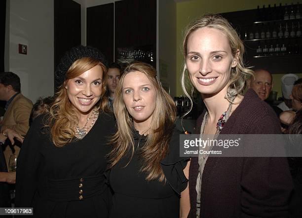 Fabiola Beracasa Emilia Fanjul Pfeifler and Lauren Davis