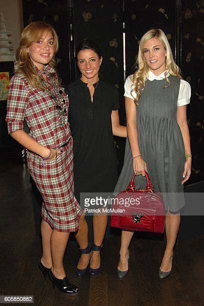 Fabiola Beracasa Shoshanna Gruss and Tinsley Mortimer attend VICTORIA'S SECRET Luncheon to Introduce INTIMISSIMI Hosted by Ana Beatriz Barros Fabiola...