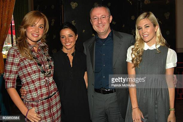 Fabiola Beracasa Shoshanna Gruss Sandro Veronesi and Tinsley Mortimer attend VICTORIA'S SECRET Luncheon to Introduce INTIMISSIMI Hosted by Ana...