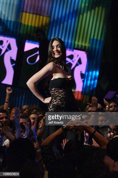 Fabiola Campomanes during MTV Video Music Awards Latin America 2003 Live Telecast at Jackie Gleason Theater in Miami Beach Florida United States