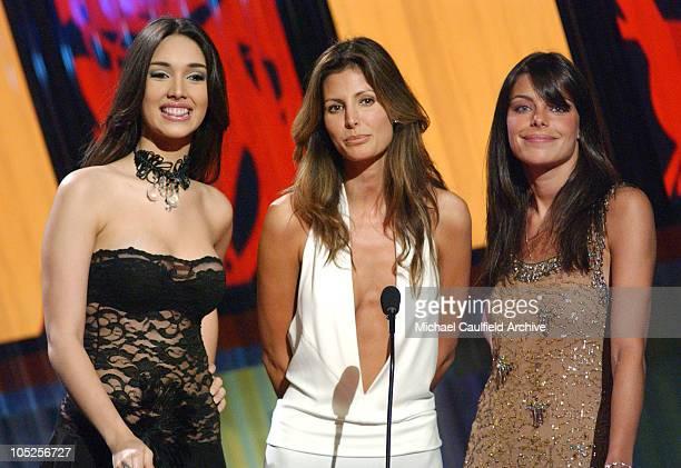Fabiola Campomanes Elsa Benitez and Daniela Cicarelli