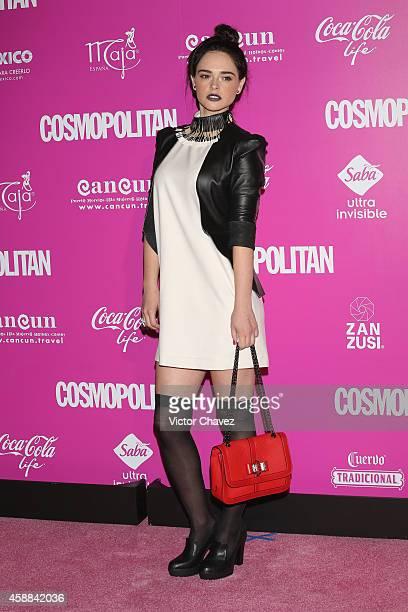 Fabiola Guajardo attends the Cosmopolitan magazine anniversary at Auditorio BlackBerry on November 11 2014 in Mexico City Mexico