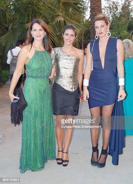 Fabiola Martinez Ana Cristina Portillo and Alejandra Osborne attend Teresa Roca de Togores y Ortiz and Francisco Landeta y Rospide's wedding on...