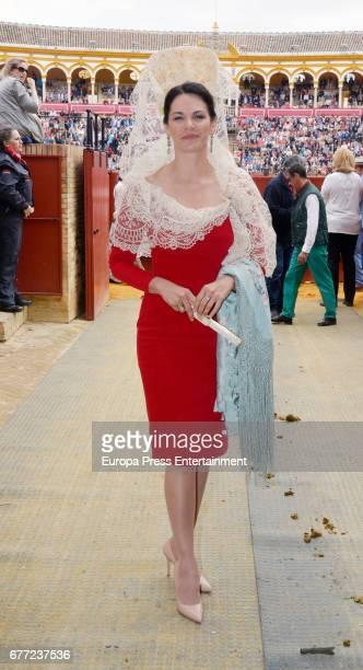 Fabiola Martinez attends 2017 April's Fair on April 30 2017 in Seville Spain