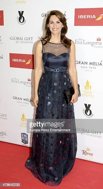 Fabiola Martinez attends Global Gift Gala Marbella 2015 at Gran Melia Don Pepe Resort on July 5 2015 in Marbella Spain