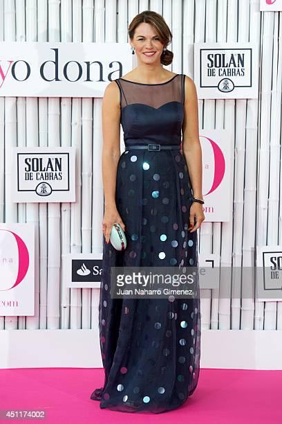 Fabiola Martinez attends 'IX International Yo Dona Awards' at Zarzuela Hippodrome on June 24 2014 in Madrid Spain