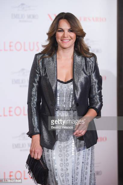 Fabiola Martinez attends Malleolus by Emilio Toro Wineries 20th anniversary party on October 01 2019 in Madrid Spain