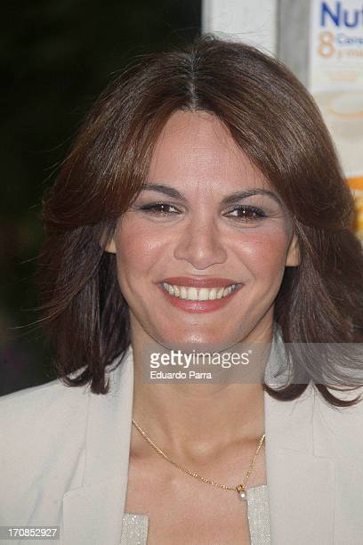 Fabiola Martinez attends Nutriben and Disney Partnership photocall at Federica Co on June 19 2013 in Madrid Spain