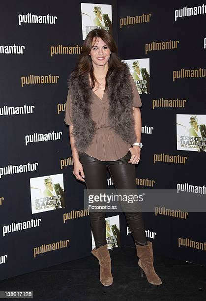 Fabiola Martinez attends Pullmantur Golden Night at Teatriz on February 9 2012 in Madrid Spain