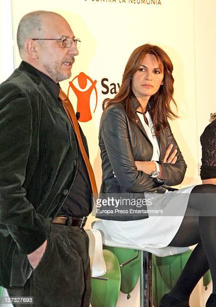 Fabiola Martinez attends 'Respira Por Una Vida' campaign on January 18 2012 in Madrid Spain