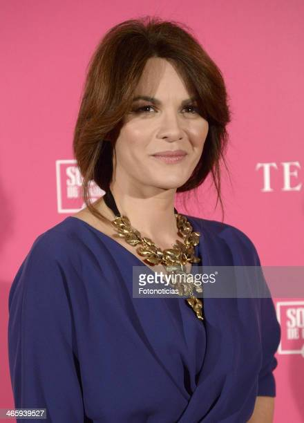 Fabiola Martinez attends 'T de Telva' beauty awards 2014 at the Palace Hotel on January 30 2014 in Madrid Spain