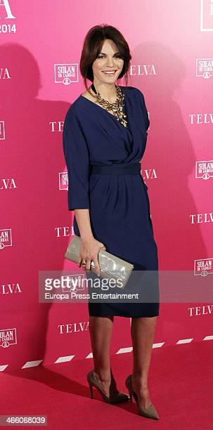 Fabiola Martinez attends 'T de Telva' Beauty awards 2014 at the Palace Hotel on January 30 2014 in Madrid Spain