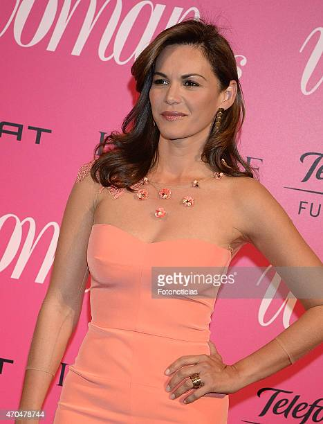 Fabiola Martinez attends the 2015 'Woman Awards' Ceremony at the Casino de Madrid on April 20 2015 in Madrid Spain