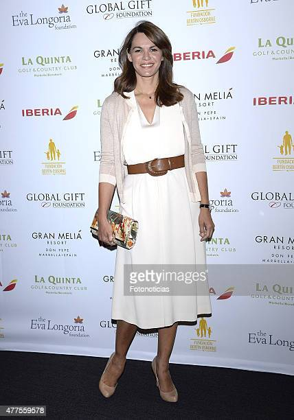 Fabiola Martinez attends the 'Global Gift Foundation Philanthropic Weekend' presentation at Caray on June 18 2015 in Madrid Spain