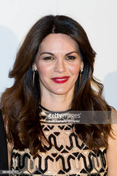 Fabiola Martinez attends the Global Gift Gala 2017 at the Royal Teather on April 4 2017 in Madrid Spain