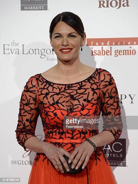 Fabiola Martinez attends the Global Gift Gala at the Palacio de Cibeles on April 2 2016 in Madrid Spain