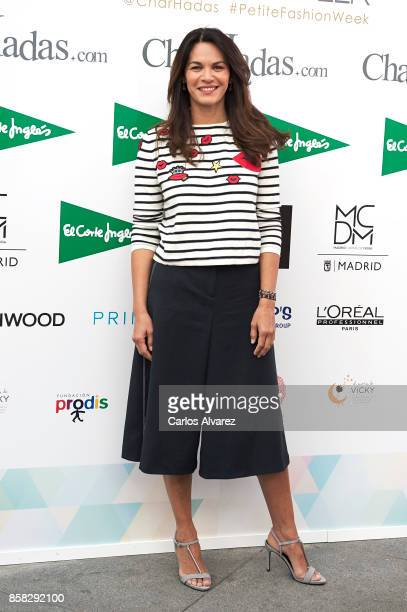 Fabiola Martinez attends 'The Petite Fashion Week' at the Cibeles Palace on October 6 2017 in Madrid Spain