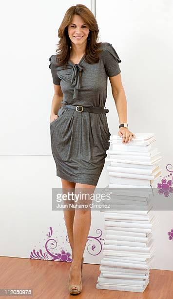 Fabiola Martinez poses for a portrait session on April 12 2011 in Madrid Spain