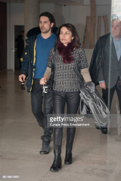 Fabiola Toledo attends the funeral chapel for Carmen Franco daughter of the dictator Francisco Franco on December 29 2017 in Madrid Spain