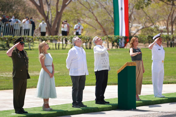 MEX: Argentine President Alberto Fernandez Continues His Official Visit To Mexico