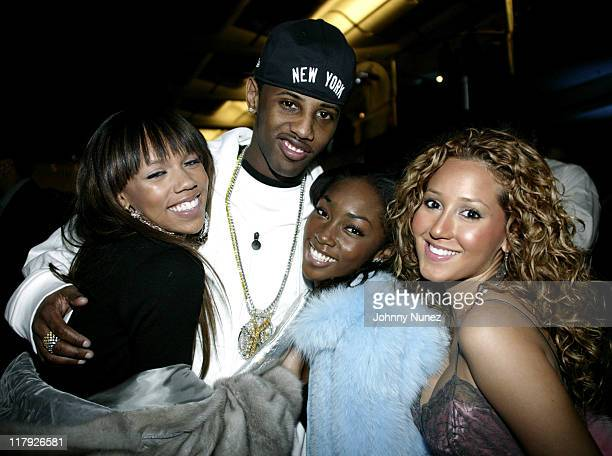 Fabolous and 3LW during NBPA AllStar Ice Gala February 19 2005 at Denver Convention Center in Denver Colorado United States