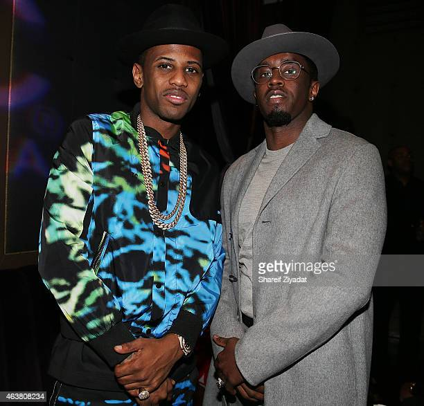 Fabolous and Sean Combs attend the NBPA Gala at Cipriani Downtown during NBA All-Star Weekend on February 14, 2015 in New York, New York.