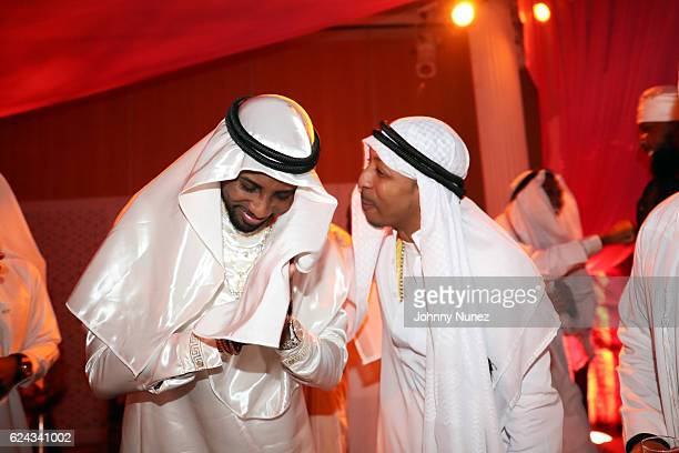 Fabolous and Suga J attend Fabolous' A Night In FABU DHABI Birthday Celebration on November 18 2016 in New York City