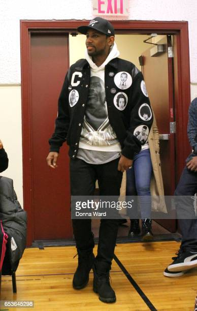 Fabolous appears during the 11th Annual Garden of Dreams Talent Show rehearsal at Radio City Music Hall on March 15 2017 in New York City