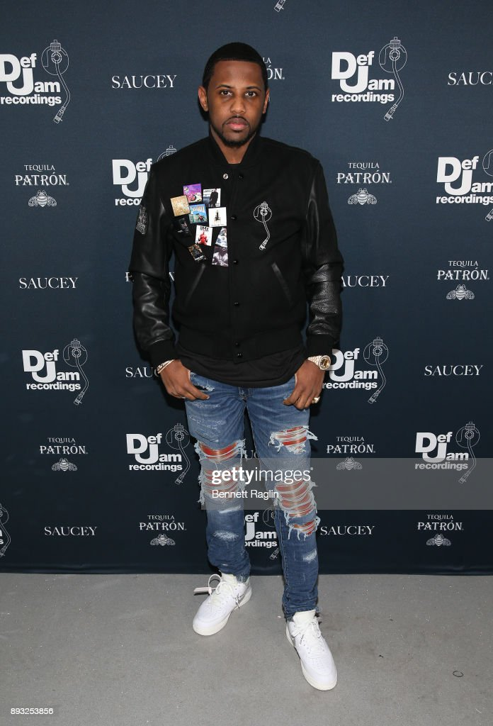 Fabolous attends as Def Jam Recordings Celebrates the Holidays with Patron Tequila at Spring Place on December 14, 2017 in New York City.