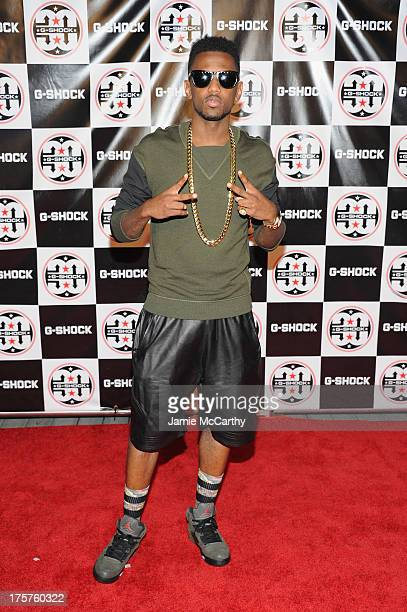 Fabolous attends GShock Shock The World 2013 at Basketball City on August 7 2013 in New York City