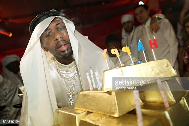 Fabolous attends his A Night In FABU DHABI Birthday Celebration on November 18 2016 in New York City