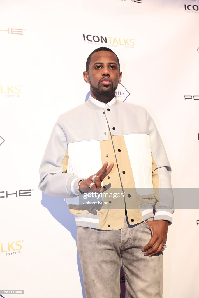 Fabolous attends Icon Talks Salutes Fabolous at Brooklyn Borough Hall on March 9, 2017 in New York City.