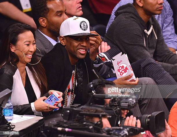 Fabolous attends the Miami Heat vs Brooklyn Nets game at Barclays Center on November 1 2013 in the Brooklyn borough of New York City