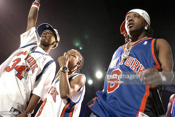 Fabolous Bow Wow and Jermaine Dupri during Bow Wow In Concert at Madison Square Garden at Madison Square Garden in New York City New York United...