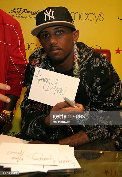 Fabolous during Ed Hardy In-Store at Macy's - April 26, 2007 at Macy's in New York City, New York, United States.