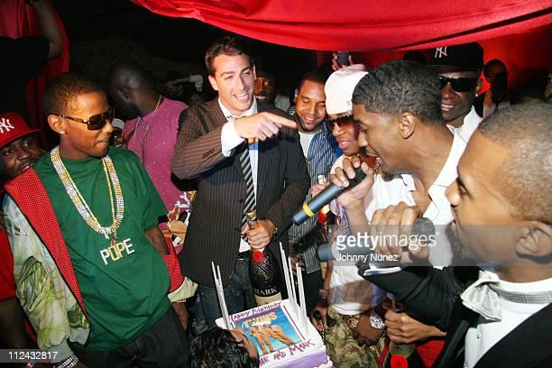 Fabolous Mark Birnbaum Chayo Red Cafe Fonzworth Bentley and Kanye West