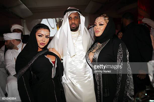 Fabolous poses with guests at his A Night In FABU DHABI Birthday Celebration on November 18 2016 in New York City