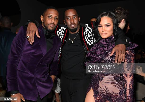 Fabolous Sean Combs and Emily B attend Sean Combs 50th Birthday Bash presented by Ciroc Vodka on December 14 2019 in Los Angeles California