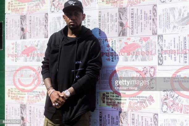 Fabolous seen in the streets of Manhattan outside Public School during New York Fashion Week on September 10 2017 in New York City