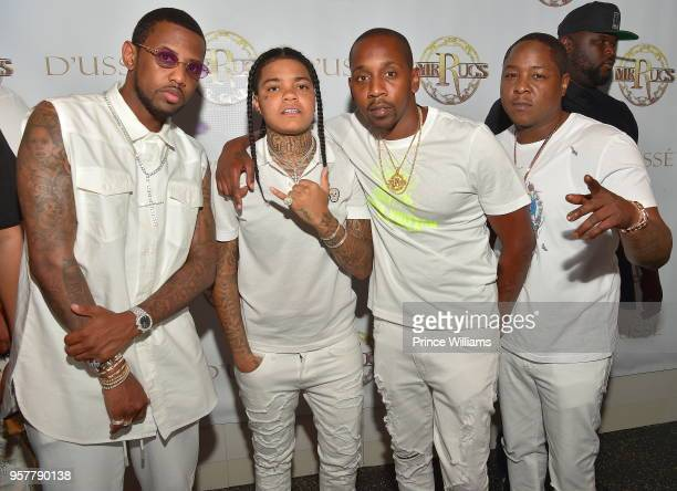 Fabolous Young MA Ruggs and Jadakiss attend The All White Affair at Gold Room on May 12 2018 in Atlanta Georgia