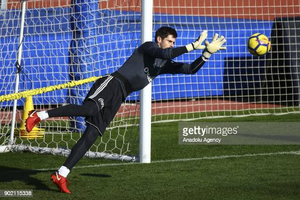 Fabri of Besiktas attends the training session within the team's midseason training camp in Antalya Turkey on January 7 2018