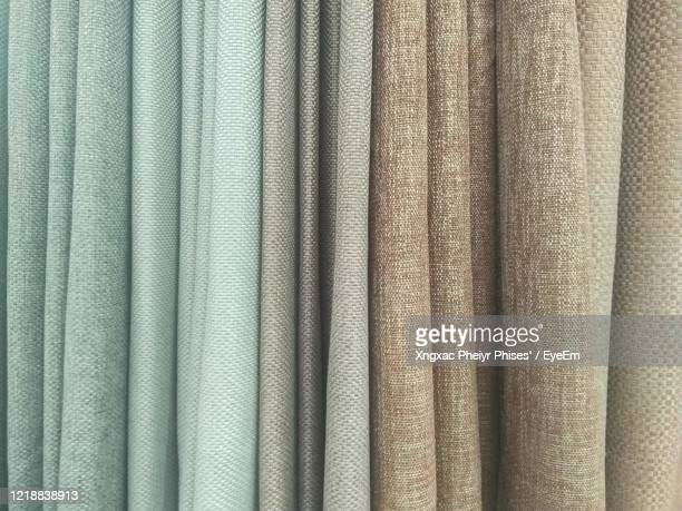 fabric cool tone - textile industry stock pictures, royalty-free photos & images